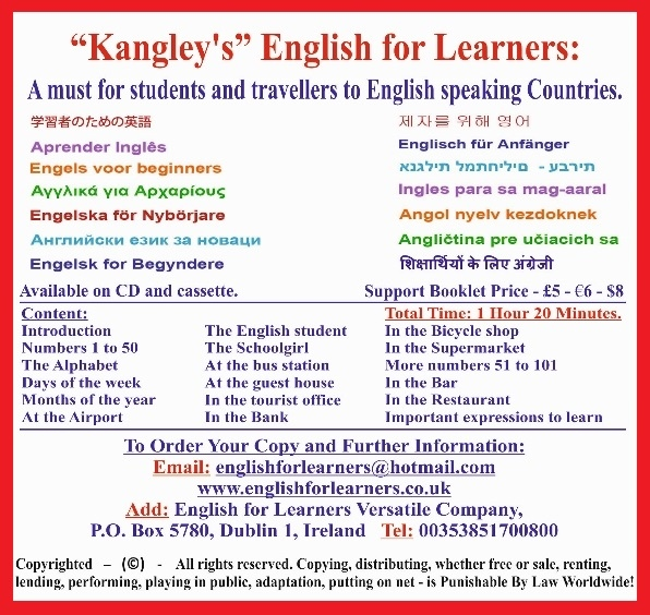 English for learners